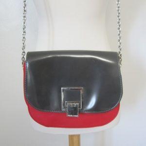 Ivanka Trump S Red Color Block Shoulder Bag